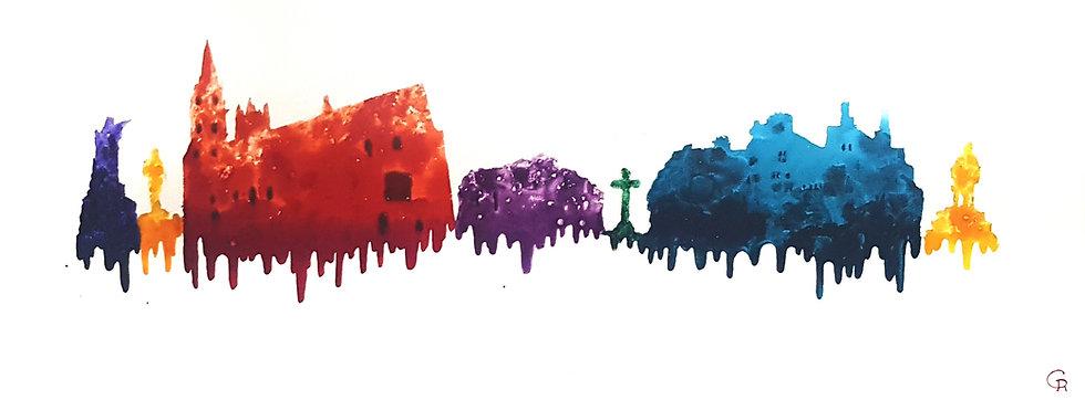 Llandaff Multicoloured