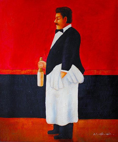 The Italian Waiter