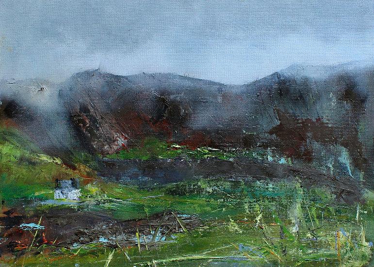 Mist Coming In - Isle of Skye