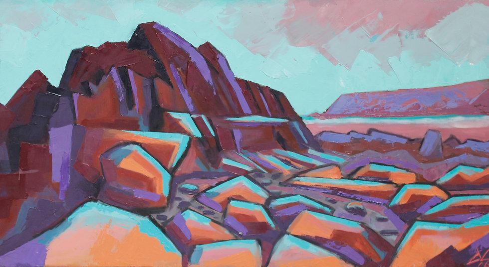 Caerfai Pink Rocks
