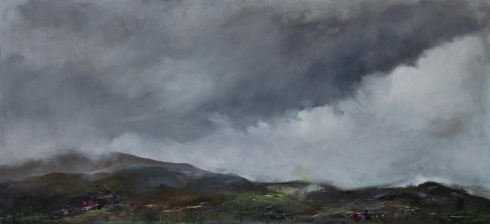 Mist Over Hills In Skye