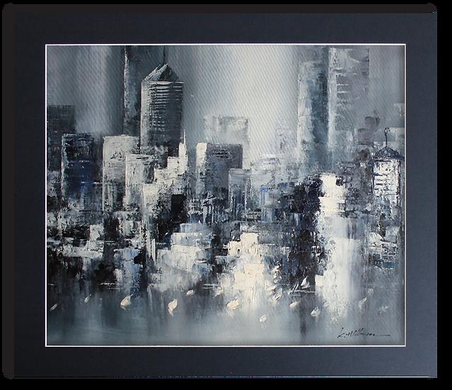 Manhattan Illusion (B&W)