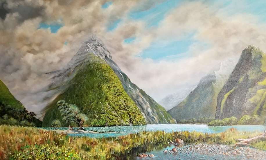 Storm Over Milford Sound