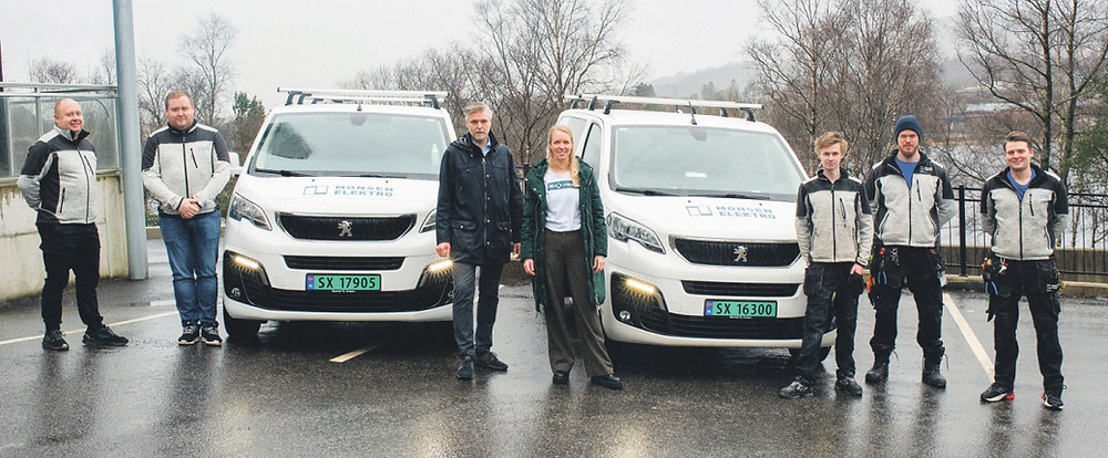 Monsen Elektro etableres i Åsane. Foto: Daniela Hetlebakk Mala