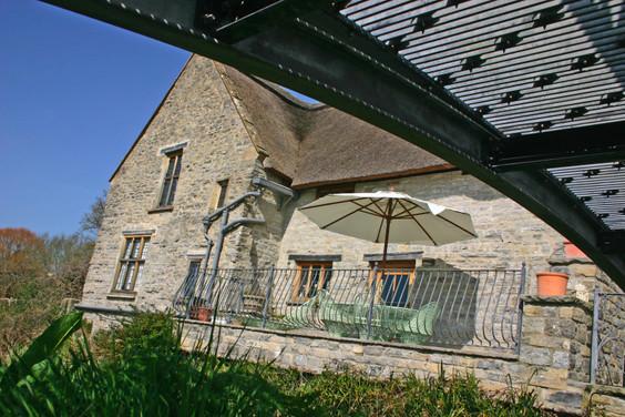Gatehouse Outside Patio