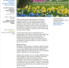 New Climate Normals