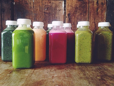 Easter Egg colored juices make you beautiful from the inside out!