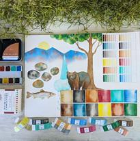 Woodlands Palette