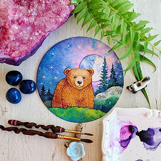 The cutest 🐻🌲💜🌔_I'll be taking some