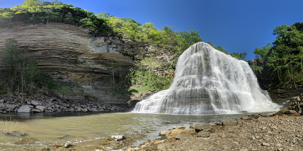 Burgess Falls Paddleboard Adventure
