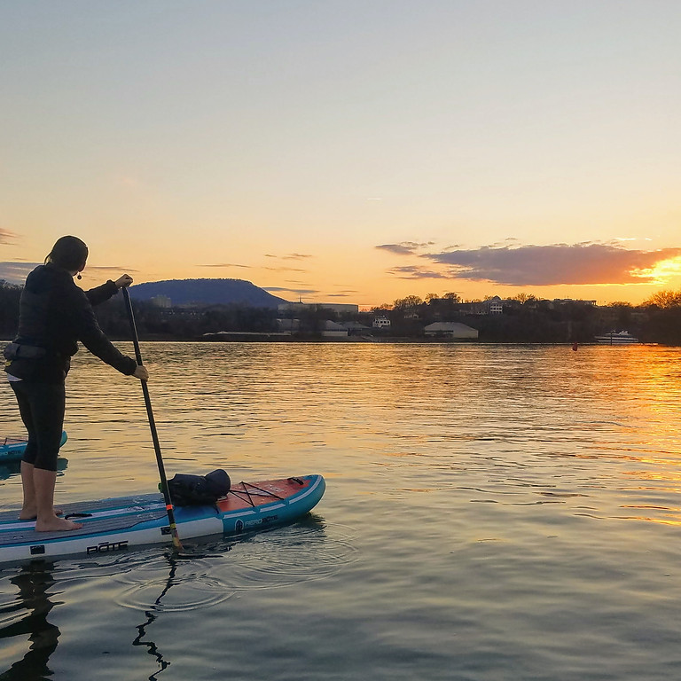 Sunset SUP Adventure - Chickamauga Lake