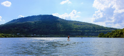 Solo SUP lookout mountain
