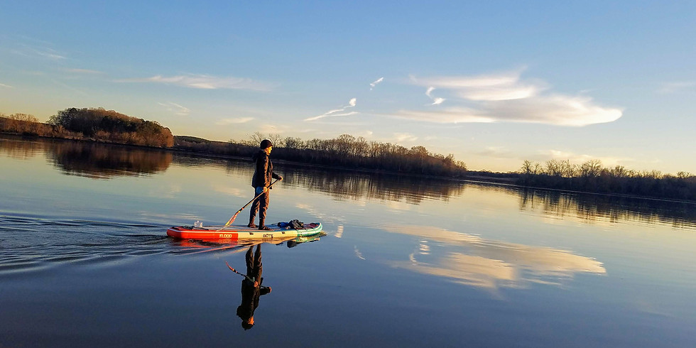 National Park Partners Fundraiser Paddleboard Adventure | SUP with Sherman
