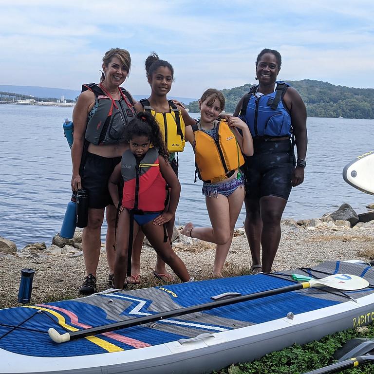 Kid-friendly Paddleboard Adventure