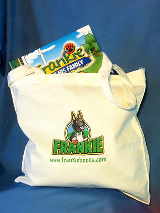 Frankie's Canvas Tote