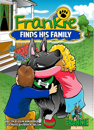 FRANKIE FINDS HIS FAMILY - HARDBACK