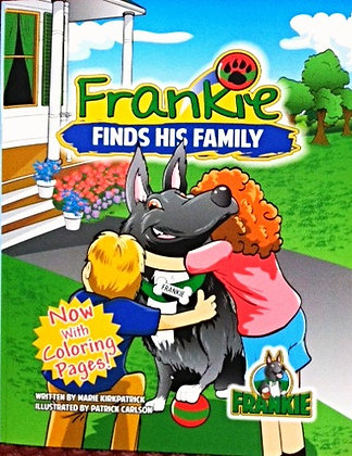 Frankie Finds His Family - NOW with Coloring Pages