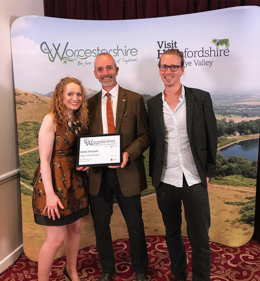 Highly Commended at Visit Worcestershire Awards
