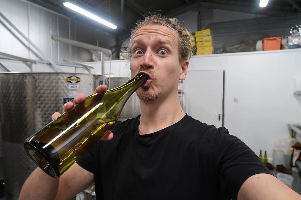 Winemaker Chris