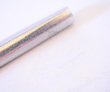 Clear Transparent Glitter Vinyl