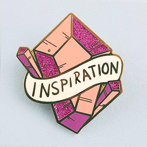 AMETHYST OF INSPIRATION LAPEL PIN