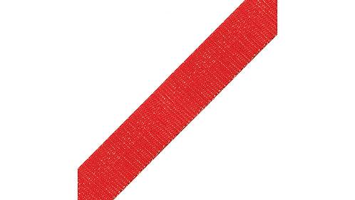 2m Red/Gold Shimmer Webbing