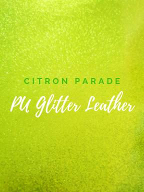 Citron Parade Glitter Vinyl