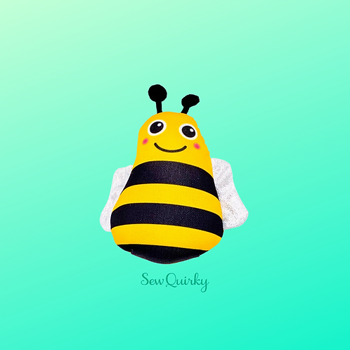 Bee Weighted Fabric Pincushion
