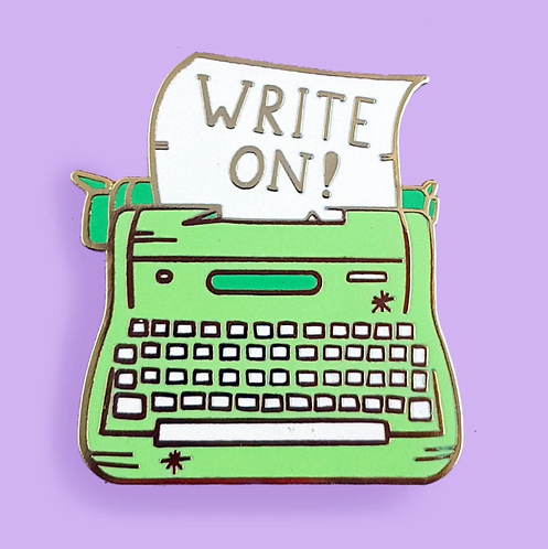 WRITE ON LAPEL PIN