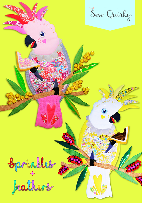 Sprinkles + Feathers Pattern Book