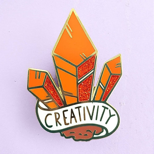 CLUSTER OF CREATIVITY LAPEL PIN