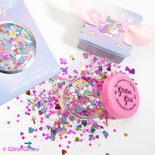 Glitter Girl Unicorn Glitter – Velveteen Rabbit 5g Pouch