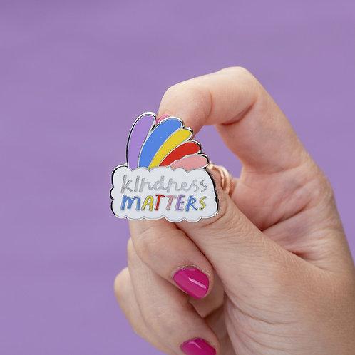 Kindness Matters Enamel Pin