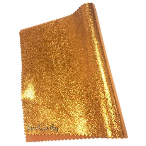 Metallic Soft Vinyl Roll - Rusty Sunflower