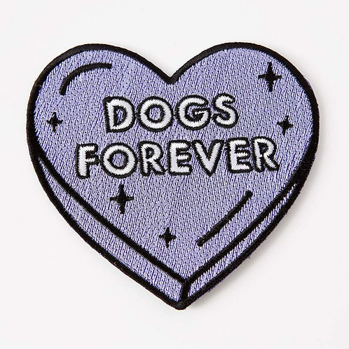 Dogs Forever Iron On Patch