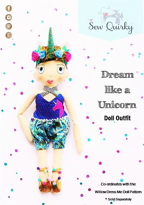 PDF - Dream Like a Unicorn Outfit