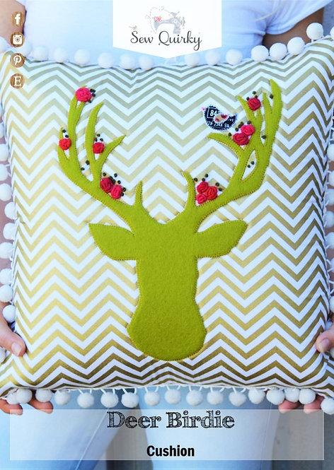 Deer Birdie Cushion