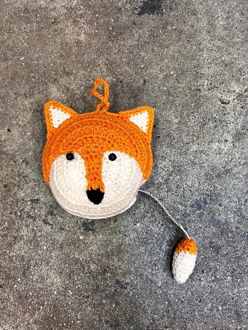 Foxy Crocheted Tape Measure