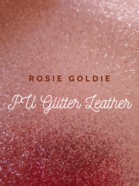 WS Rosie Goldie Glitter Vinyl Regular Roll