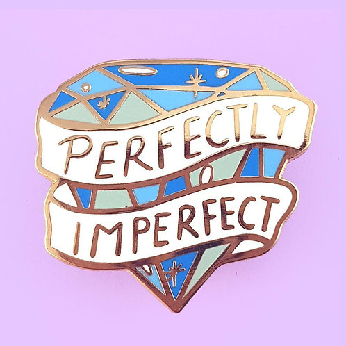 PERFECTLY IMPERFECT LAPEL PI