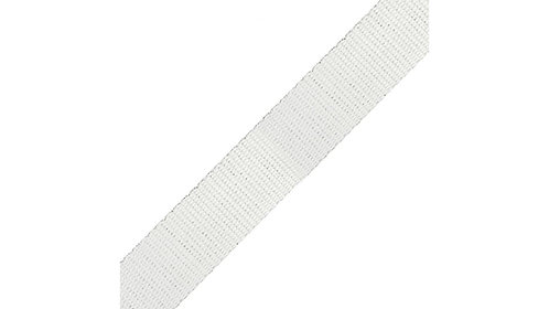 2m White/Silver Shimmer Webbing