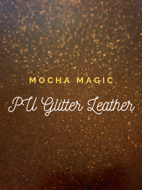 WS Mocha Magic Glitter Vinyl Regular Roll