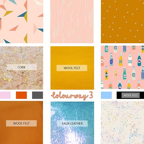 Hay Babe Applique Fabric Colourway #3