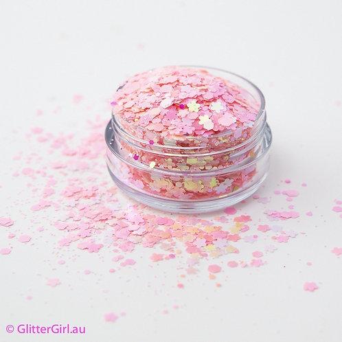 Glitter Girl Unicorn Glitter – Marshmallow 5g Pouch