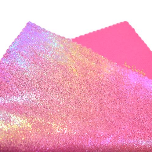 Metallic Soft Vinyl Roll - Fairy Floss