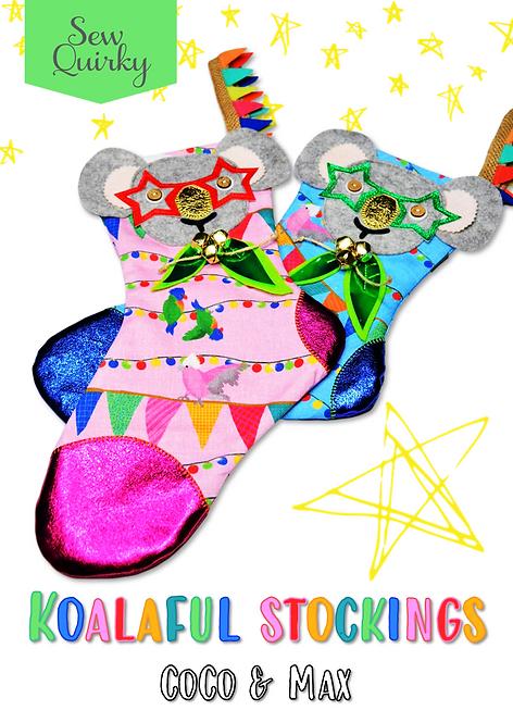 Koalaful Stockings Pattern