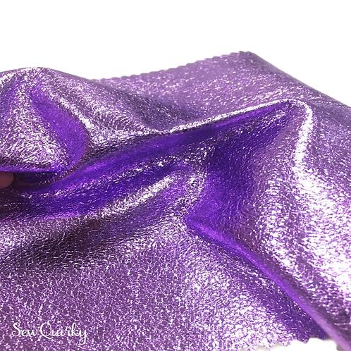 Metallic Soft Vinyl Roll - Lovely Lilac