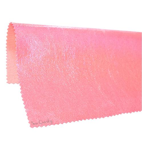 Metallic Soft Vinyl Roll - Bubble Gum
