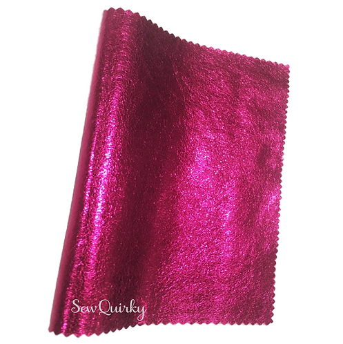 Metallic Soft Vinyl Roll - Pink Babe
