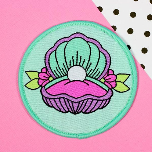 Mermaid Shell Woven Patch
